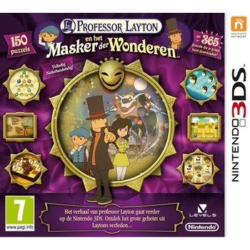3DS Professor Layton en het Masker der Wonderen