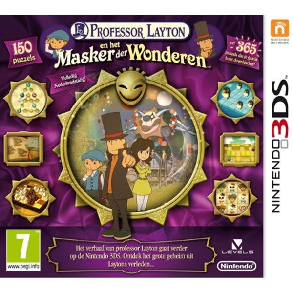 3DS Used: Professor Layton en het Masker der Wonderen