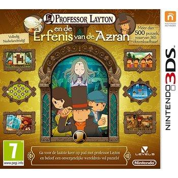 3DS Professor Layton en de Erfenis van de Azran