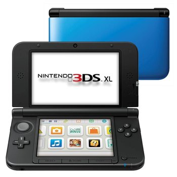 3DS Nintendo 3DS XL Blue + Black