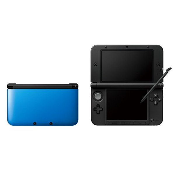 3DS Used: Nintendo 3DS XL Blue + Black