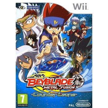 Wii Beyblade Metal Fusion Counter Leone