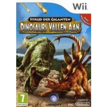 Wii Strijd der Giganten Dinosaurs vallen aan