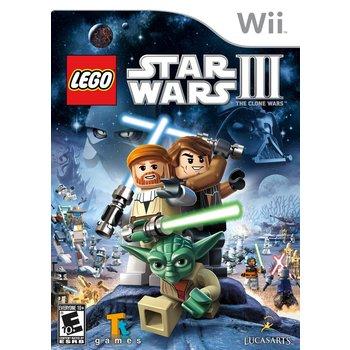 Wii LEGO Star Wars 3: The Clone Wars