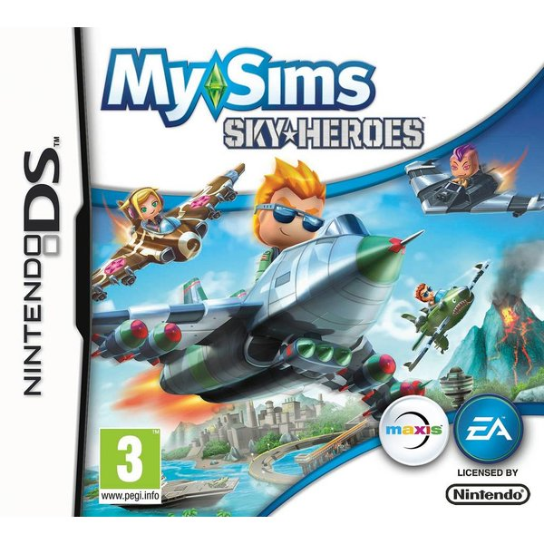 DS Used: My Sims Skyheroes