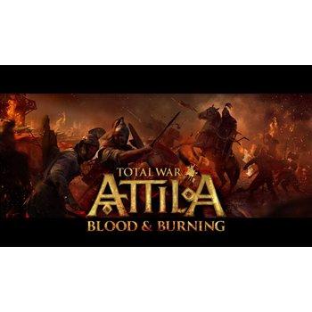 PC Total War Attila - Blood & Burning (DLC) Steam Key