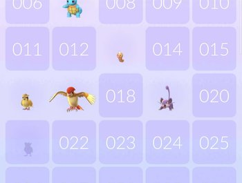Kun je de Pokedex wel afmaken in Pokemon Go?