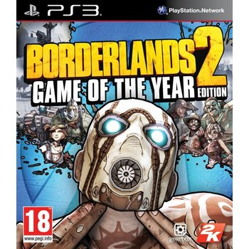 PS3 Borderlands 2 GOTY Edition