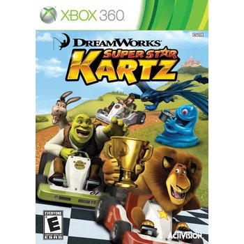 Xbox 360 Dreamworks Super Star Kartz