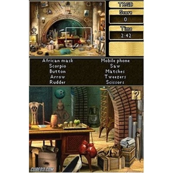 DS Used: Chronicles of Mystery De Vloek van de oude Tempel
