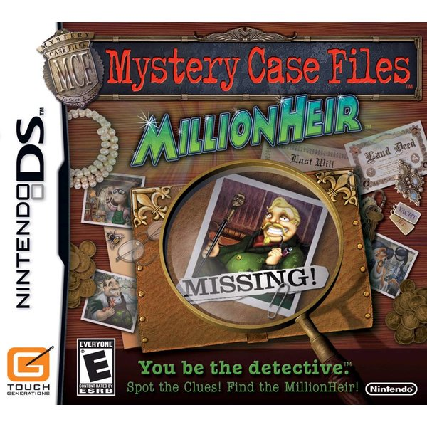 DS Used: Mystery Case Files Millionheir