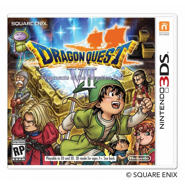 3DS 2e hands: Dragon Quest VII Fragments of the Forgotten Past