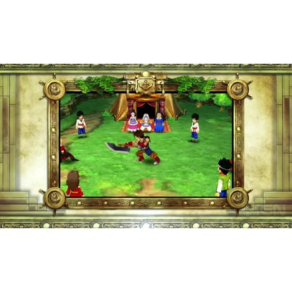 3DS Used: Dragon Quest VII Fragments of the Forgotten Past