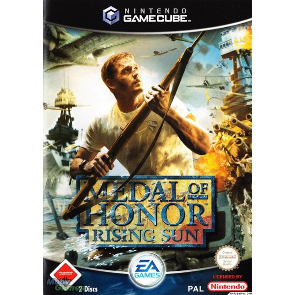 Gamecube Used: Medal of Honor Rising Sun