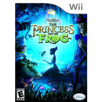 Wii The Princess and the Frog