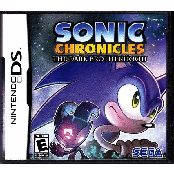DS Used: Sonic Chronicles The Dark Brotherhood