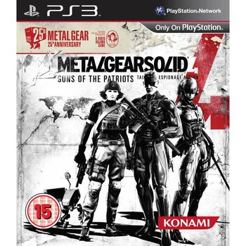 PS3 Metal Gear Solid 4 Guns of the Patriots 25th Anniversary