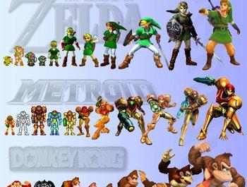 De ontwikkeling van Game graphics sinds 1952