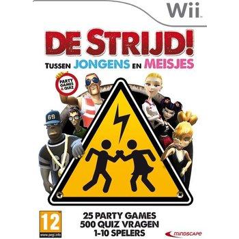 Wii De Strijd tussen jongens en meisjes