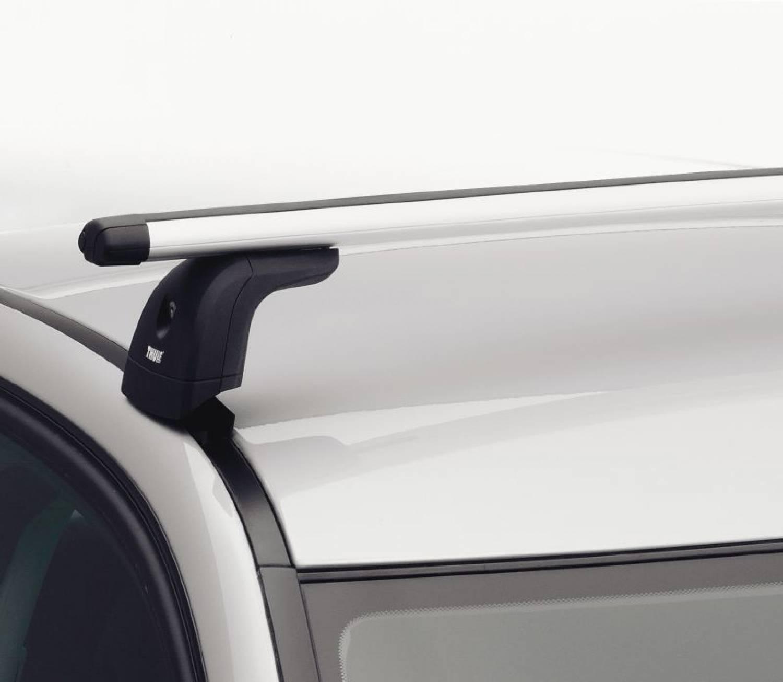 thule dachgep cktr ger f e f r fahrzeuge mit integrierter. Black Bedroom Furniture Sets. Home Design Ideas