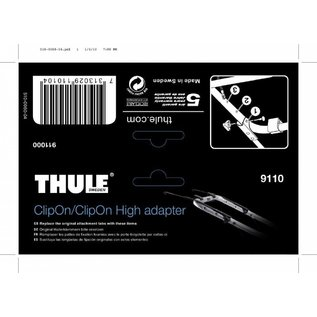 Thule Adapter für Heckfahrradträger