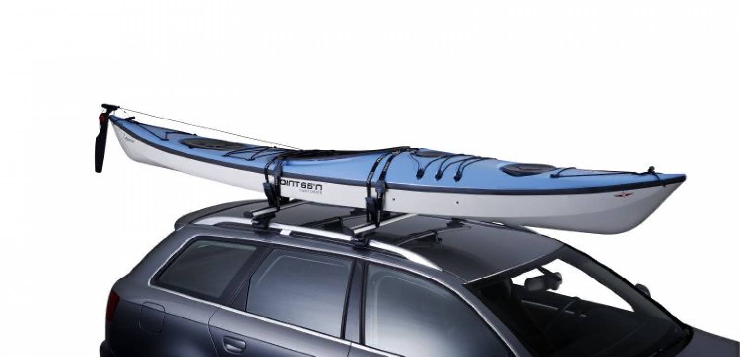 guard kayak roof water rack winter touring k accessories travel car thule sport carrier loading aid image