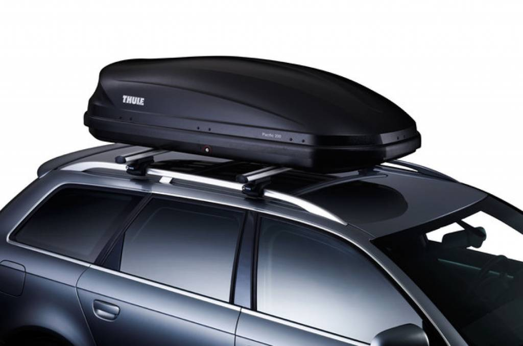 thule roof box touring m 200 va sportiek nederland. Black Bedroom Furniture Sets. Home Design Ideas