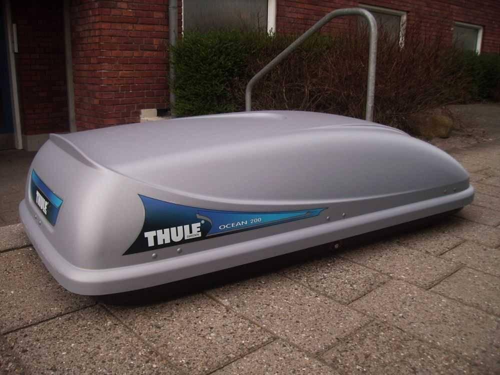 thule ocean roof box 200 sportiek nederland. Black Bedroom Furniture Sets. Home Design Ideas