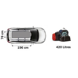 Thule Roof box Touring L (780) va € 387.50