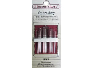 Piecemakers Embroidery Needles / Borduur Naalden