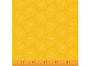 Windham Fabrics Mary's Blender Donker Geel
