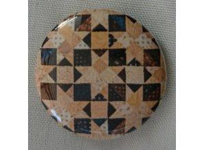 Quilt Dots Quilt Dots - Magneet voor ketting of armband of tassenhanger