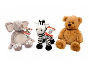Beer Bear, olifant Ollie en zebra Ziggy