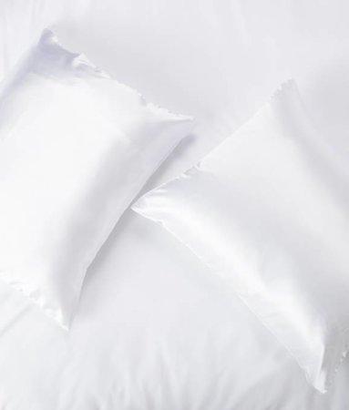 Satin pillow case Wit
