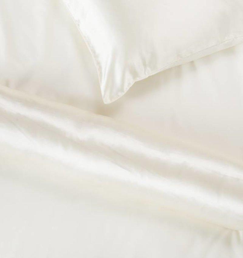 Nightlife Silk Satin Bolster Ecru