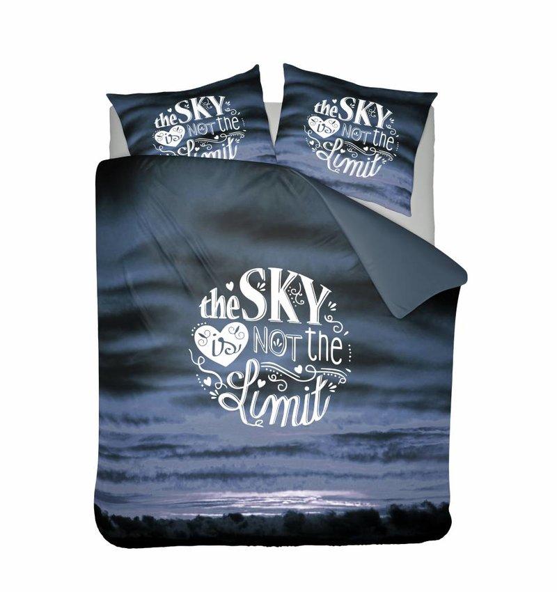 Nightlife Concept Dekbedovertrek Sky Blauw