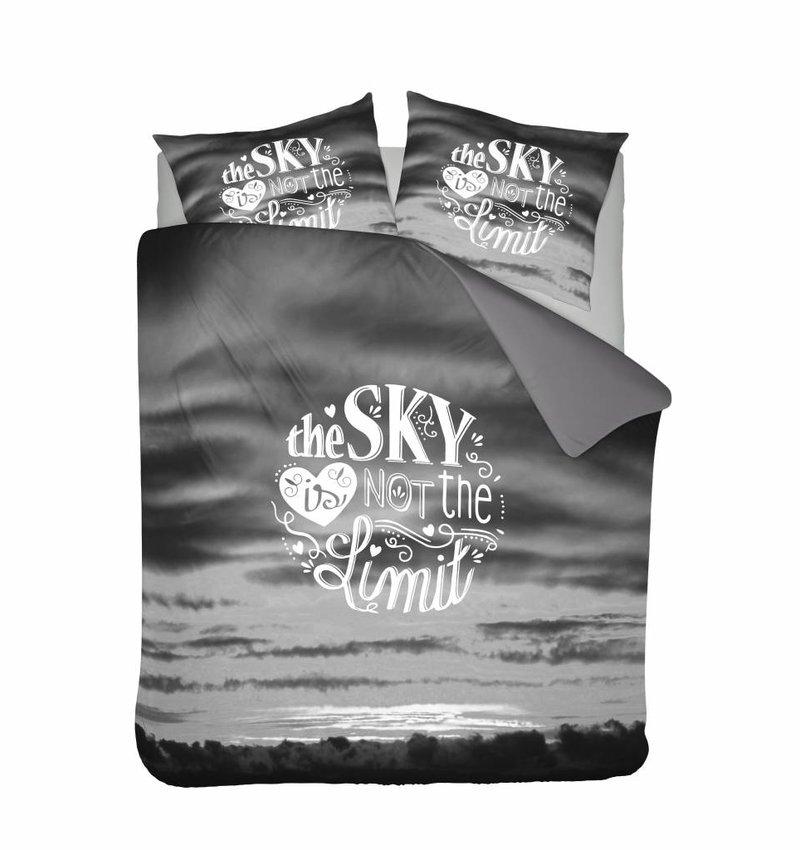 Nightlife Concept Dekbedovertrek Sky Grijs