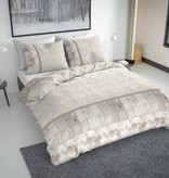 Nightlife Fresh Dekbedovertrek Fur On Wood Beige Flanel