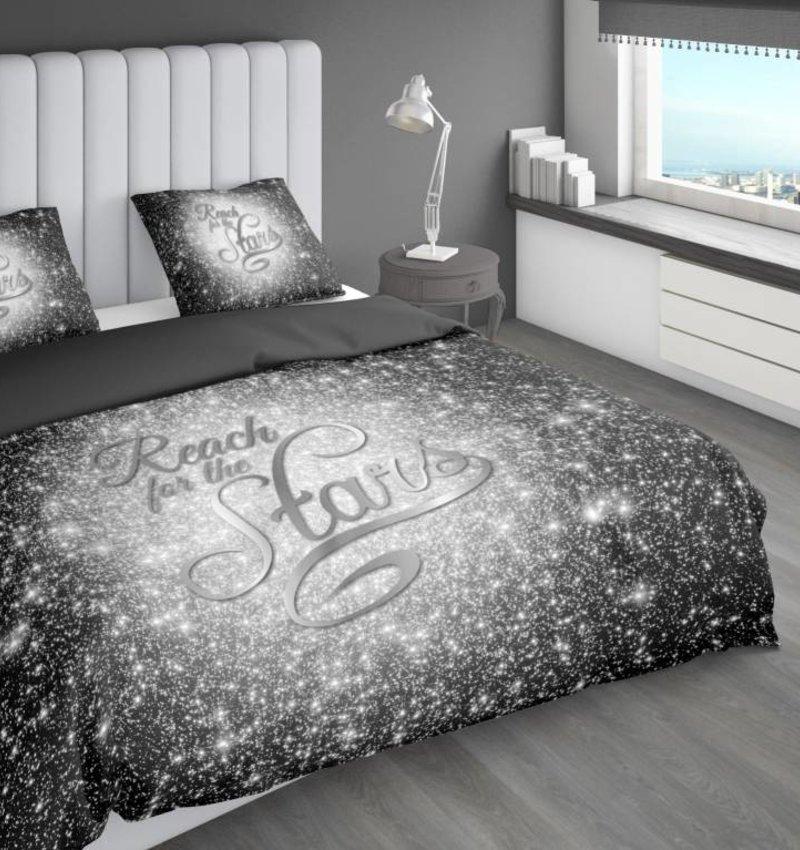 Nightlife Concept Dekbedovertrek Reach Stars Zilver