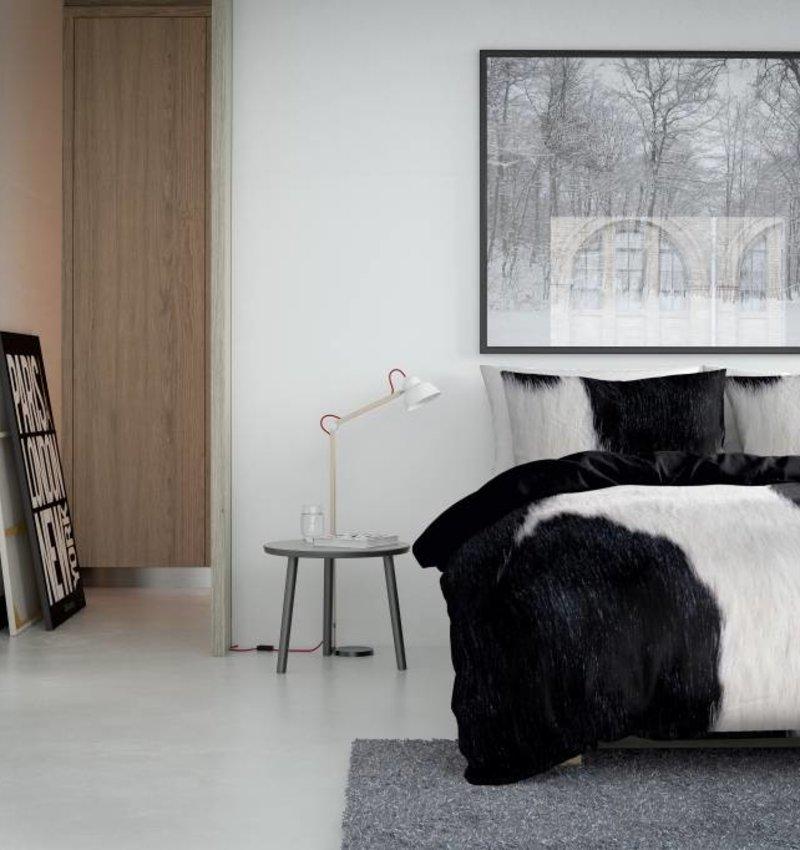 Nightlife Concept Dekbedovertrek Cow Zwart