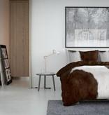 Nightlife Concept Dekbedovertrek Cow Bruin