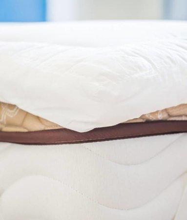 Matrasbeschermende Luxe Katoenen Hotel Topper