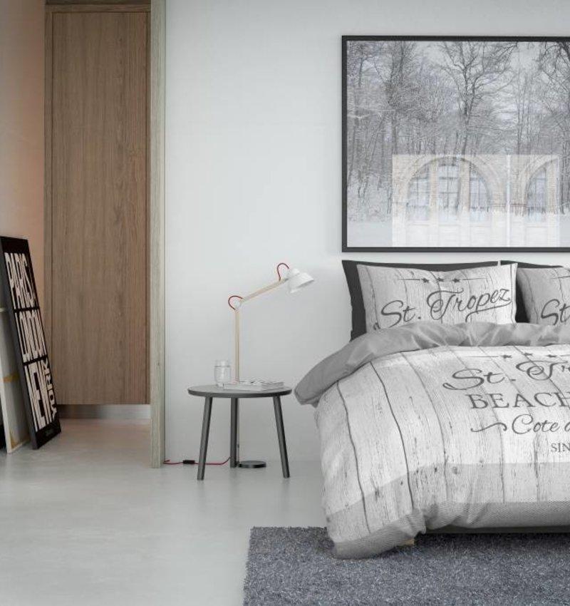 Nightlife Concept Dekbedovertrek St. Tropez Grijs