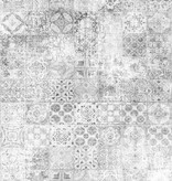 Nightlife Home Vloerkleed Mozaik Grijs