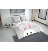 Nightlife Concept Dekbedovertrek Bunny Grijs