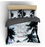 Nightlife Concept Dekbedovertrek Summerjam Blauw