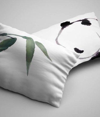 Kussenslopen Panda (2 stuks)