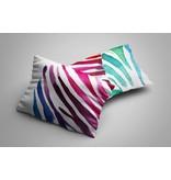 Nightlife Blue Kussenslopen Zebra Color (2 stuks)