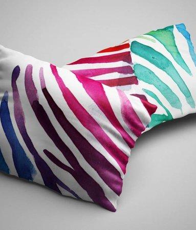 Kussenslopen Zebra Color (2 stuks)