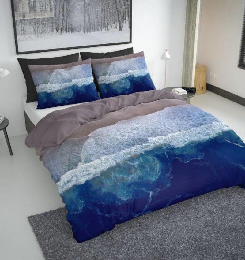 Nightlife Concept Dekbedovertrek Sahil Blauw